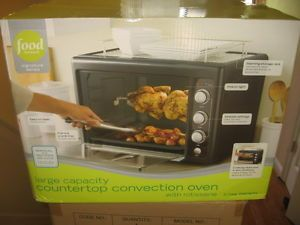 Food Network Countertop Convection Oven Manual : Food Network Large Capacity Countertop Convection Toaster Oven with ...
