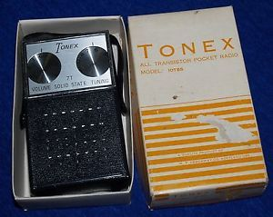 Tonex 7T Solid State Am Transistor Pocket Radio