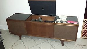 RCA Victor New Vista Solid State 400 Stereo Vintage Phonograph Console Record PL