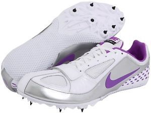 Mens Nike Zoom Rival s 5 V Track Field Running Sprint Spikes Cleats Shoes Violet