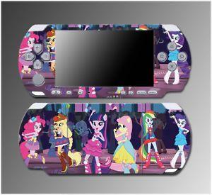 My Little Pony Celestia Girls High School Video Game Skin Sony PSP Slim 3000
