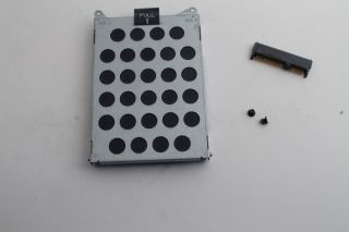 Dell Vostro 3400 Laptop HDD Hard Drive Caddy 60 4ET30 002 2 Screws Connector