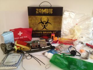 The Ultimate Zombie Survival Kit Full Bug Out Preparedness Gear World War Z