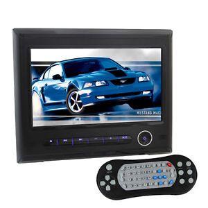 HD 9 inch Digital LCD Screen in Car Headrest Monitor Video DVD SD USB Player