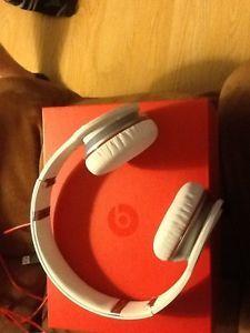 Monster Beats by Dr Dre Headband Wireless Headphones White