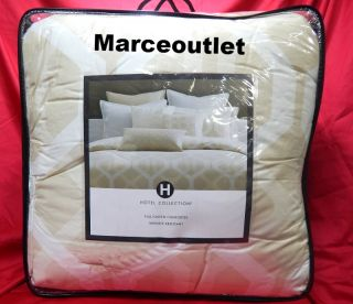 Hotel Collection Nexus 400 Thread Count Cotton Queen Comforter