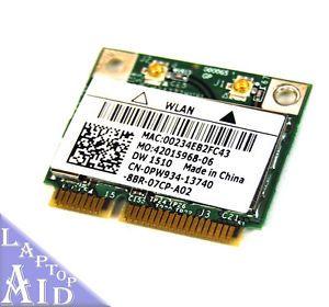 Dell Latitude E5400 Wireless Card WiFi Network PW934 Genuine Laptop Tested