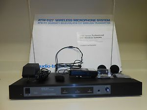 Audio Technica ATW 1127 Wireless Microphone System 4959112021068