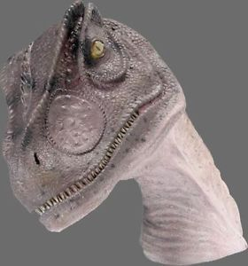 Dinosaur Statue Alosaurus Head Wall Mount Movie Prop Display