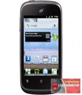 New Huawei M866 Ascend Y in Black for Straight Talk Android Smart Phone