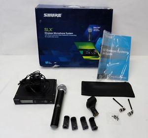 Shure SLX24 BETA58 Wireless Microphone System Kit 01 L316791A