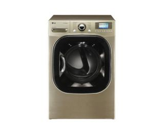 LG Steam Washer WM3885HCCA Electric Dryer DLEX3885C Energy Star ASIS Chardonnay