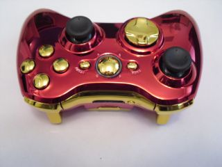 Xbox 360 Custom Iron Man Wireless Controller