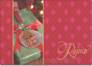 Rejoice Gift 18 African American Boxed Christmas Cards by Image Arts