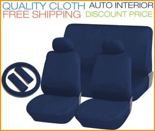 Blue Bench Seat Cover