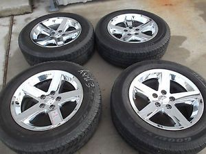 "20"" Dodge RAM 1500 Chrome Factory Wheels Goodyear Tires Rims 2364"