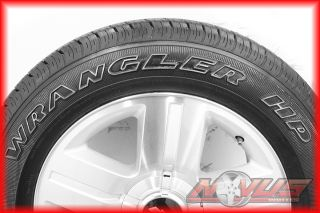 "20"" Chevy Silverado LTZ Tahoe Machined Wheels Goodyear Tires Factory GM 18"