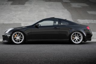"""20"""" Infiniti G35 Coupe Avant Garde M510 Concave Silver Staggered Wheels Rims"""