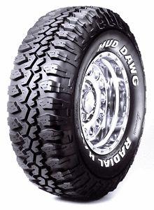 4 New Lt 265 75 16 Mud Dawg Truck Tires 75R16 R16 2657516 Load Range D 8 Ply M T