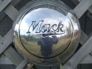 Mack Truck Hubcaps Center Caps Wheel Covers Antique