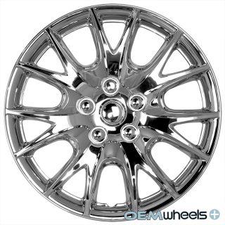 "4 New Chrome 15"" Hub Caps Fits Toyota TRD ABS Sport Center Wheel Covers Set"