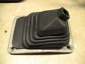 Used Suzuki Samurai Transmission Shifter Boot 2 Tranny Black Rubber