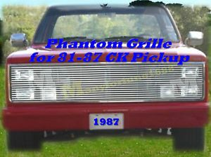 81 87 85 86 84 Chevy GMC Pickup Phantom Billet Grille