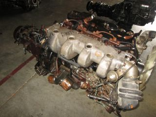 JDM Isuzu NPR 4BE1 3 6 Liter Diesel Engine Transmission Non Turbo Motor JDM Used