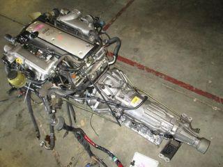 Toyota 1jzgte JDM 1JZ GTE vvti Engine Motor Auto Trans Wiring Igniter ECU VVT I