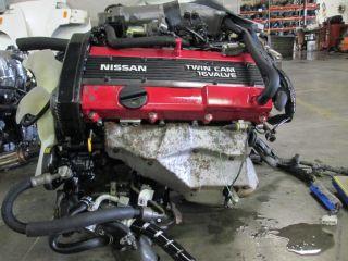 Nissan Silvia 240sx 180sx JDM CA18DE Engine CA18 Non Turbo Motor Wiring ECU S13