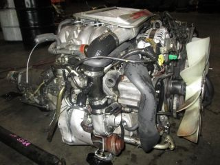 Mazda RX 7 JDM Turbo II 2 S5 13BT 13B T Engine Auto Trans 89 90 91 92 RX7 FC3S