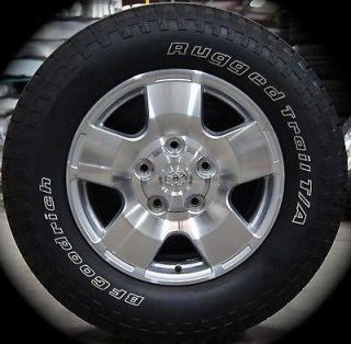 "New Toyota Tundra TRD Sequioa 18"" Factory Wheels Rims Tires 07 13 Free SHIP"