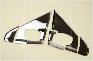 6pcs Chrome Side Mirror A Pillar Trim Molding Exterior for 2013 Dodge Journey