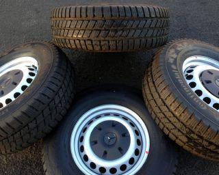 "2011 2014 Mercedes Sprinter 16"" Wheels Continental Snow Tires"
