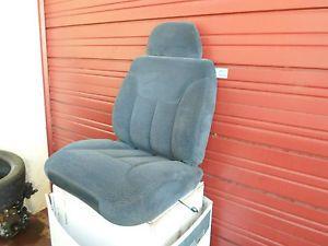 98 Chevrolet Truck Silverado RH Bucket Seat Blue