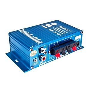 Hi Fi Audio Power Stereo Amplifier 12V Home Amp for Motorcycle Boat Car US Local