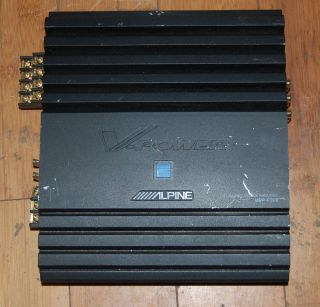 Alpine MRP F300 300 Watt RMS 4 Channel Car Stereo Amplifier 4958043510771