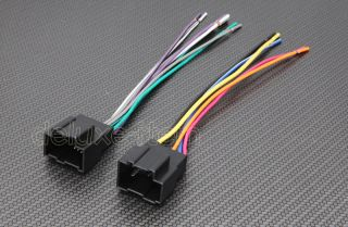 Car Stereo Radio Head Unit Wire Wiring Harness Adapter Lead for Hyundai Kia