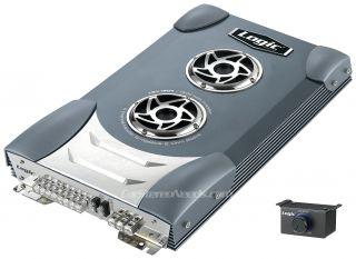 Logic LSX1804 1800 Watt 4 2 Channel Amp Car Stereo Audio Amplifier Warranty Knob