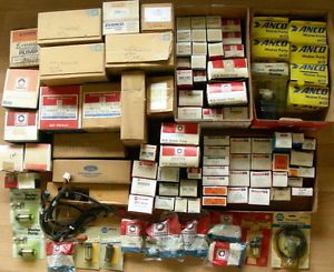 Big Lot 70s 80s 90s Ford GM Delco Anco Automotive Parts No Reserve