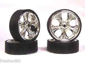 Hoppin Hydros 1 24 1 25 Monster 24S Wheels Rims Tires Tiki Model Car Chrome