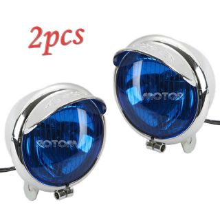 Motorcycle Headlight for Honda Kawasaki Yamaha Virago Triumph Chopper Bobber