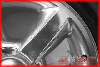 "New 20"" Chevy Tahoe LTZ Silverado Polish Wheels Pirelli Tires GMC Yukon 18"