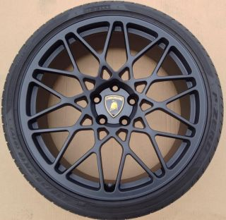 19 Lamborghini Gallardo Black Cordelia Wheels Tires Scorpius Rims LP570 LP560