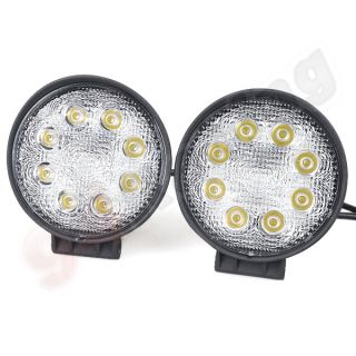 2X24W LED Work Light Offroad 4x4 4WD Offroad Fog Lamp for SUV UTV ATV