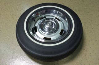 1967 Corvette Rally Wheels with Correct Tires Complete Set of 5 Perfect NCRS