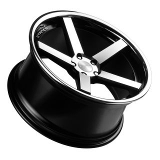 """19"""" Stance SC 5IVE Wheels Black BMW 5 Series 528 535 550 F10 F11 SC5 Staggered"""