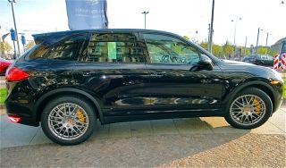 New Genuine Factory Porsche Cayenne RS Spyder Gunmetal 20 inch Wheels Tires