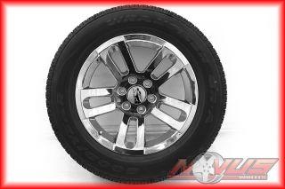 "New 20"" Chevy Silverado Tahoe GMC Sierra Yukon Chrome Wheels Goodyear Tires 18"