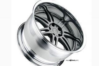 "19"" Nissan 350Z Avant Garde Work Wheels M560 19x11 VIP Staggered Rims Wheels"